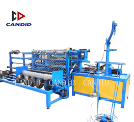 Candid Automatic Single Wire Chain Link Zaunnetzmaschine